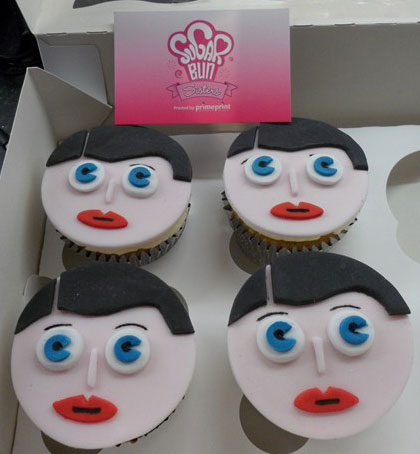 Frank Sidebottom Cupcake